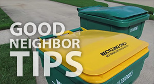 Good Neighbor Tips from the City of Mentor