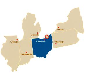 mentor-ohio-map