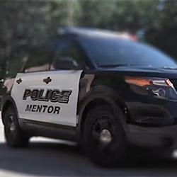 Mentor Police cruiser